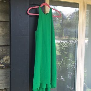 NWT Mossimo Green Hi-Lo Halter Dress